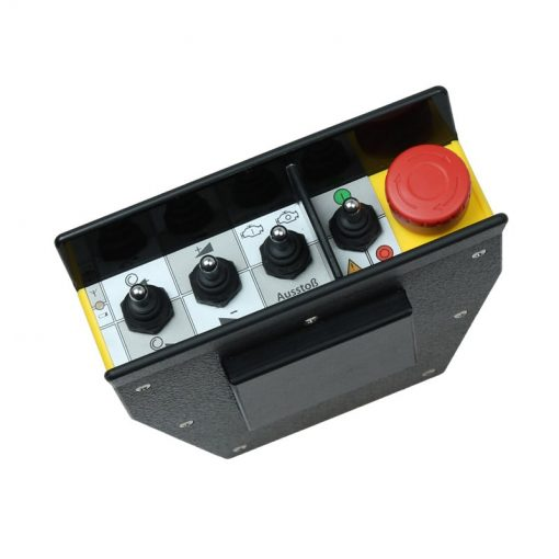 radio remote control for forestry winches