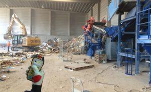 recycling-construction-waste-radio-remote-control